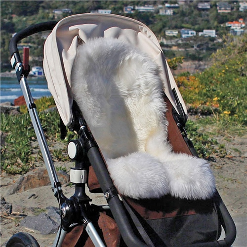 Bowron Sheepskins Longwool Strollerfleece  - Click to view larger image