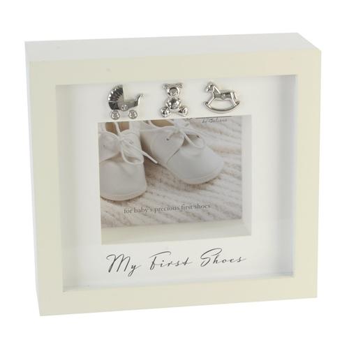 Image of Bambino 'My First Shoes' Keepsake Display Box