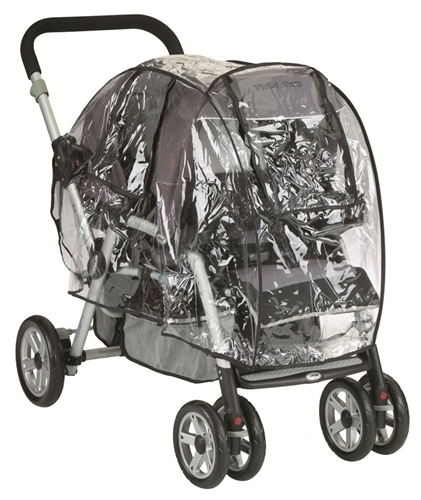 Jane Tandem Double Pushchair Raincover (Universal)