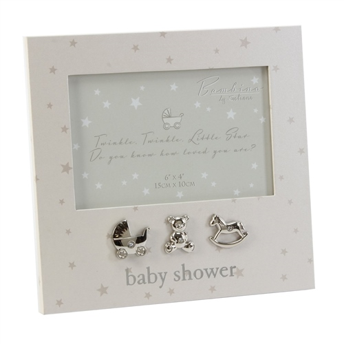 "Bambino - Paperwrap Photo Frame 6"" x 4"" Baby Shower"