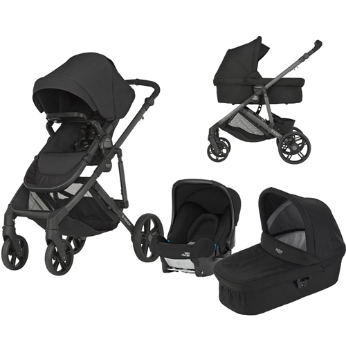 Britax B-Ready 3-in-1 travel system Cosmos Black - Click to view larger image