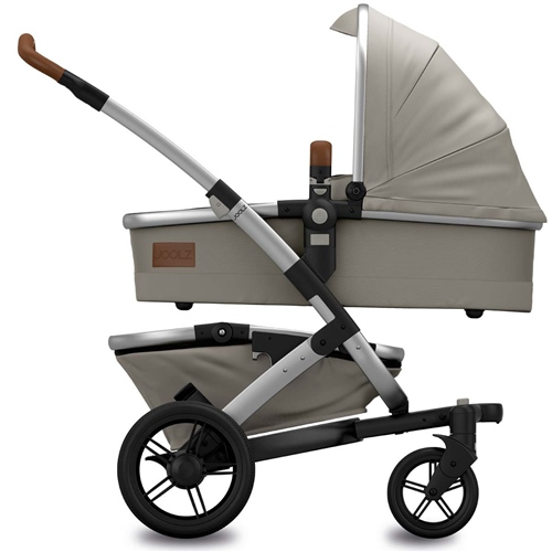 Joolz Geo Earth II Mono Elephant Grey in Pram configuration - Click to view larger image