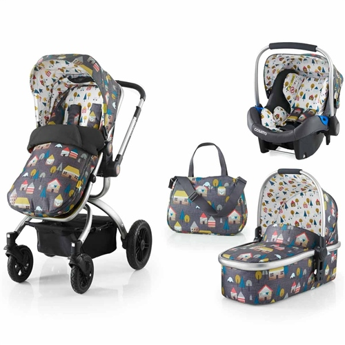 Cosatto Ooba + Port Car Seat Hygge Houses - Click to view larger image