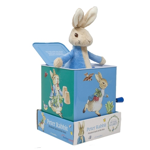 Beatrix Potter Peter Rabbit Jack In The Box  - Click to view larger image