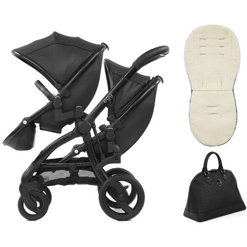 egg Tandem Stroller Jurassic Special Edition Package egg Tandem Stroller Jurassic Black Special Edition Package - Click to view larger image