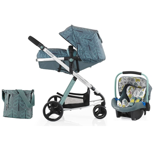 Cosatto Woop 2in1 + Port Car Seat Fjord - Click to view larger image