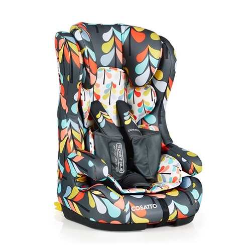 Cosatto Hubbub Group 123 Isofix Anti-Escape Car Seat - Nordik