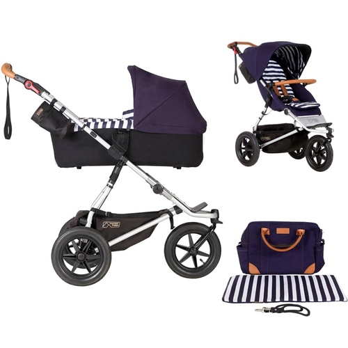 Mountain Buggy Urban Jungle + Carrycot Plus, Nautical  - Click to view larger image