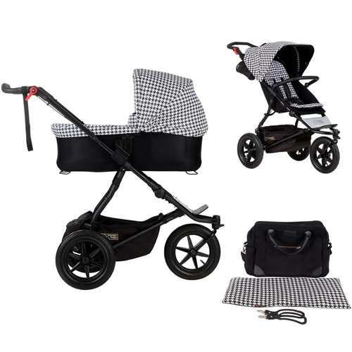 Mountain Buggy Urban Jungle + Carrycot Plus, Pepita  - Click to view larger image