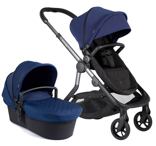 iCandy Orange Pushchair + Carrycot Complete Pram Set  - Click to view larger image