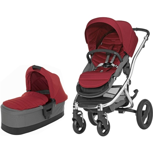 Britax Affinity + Carrycot Chilli Red - Click to view larger image