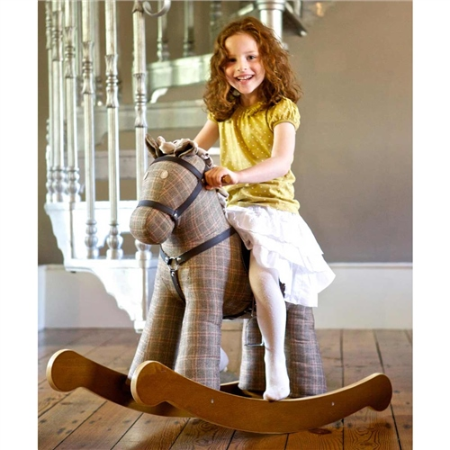Little Bird Told Me Jasper Rocking Horse  - Click to view larger image