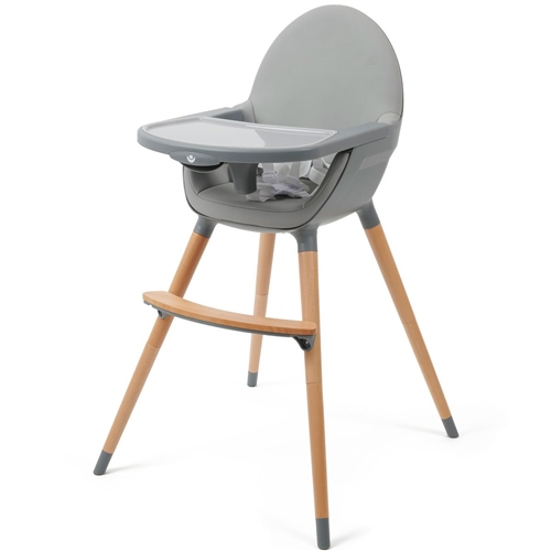 BabyLo Q Highchair - Slate Grey