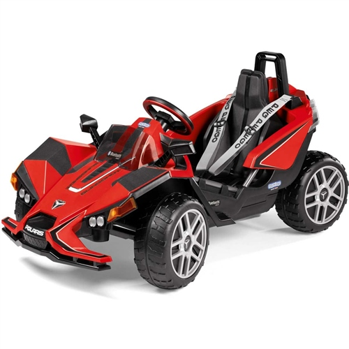 Peg Perego Polaris Slingshot Single Seater 12 Volt with RC  - Click to view larger image
