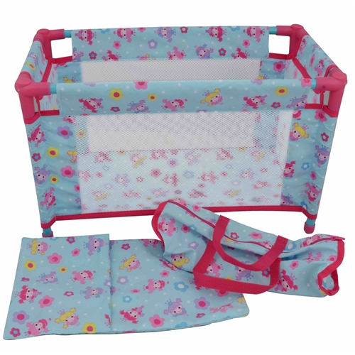 Dolls World - Deluxe Travel Cot