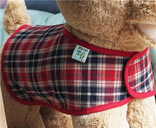 Little Bird Told Me Reversible Dog Coat  - Click to view larger image
