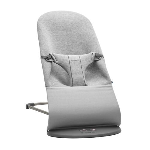 BabyBjorn Bouncer Bliss - Light Grey 3D Jersey