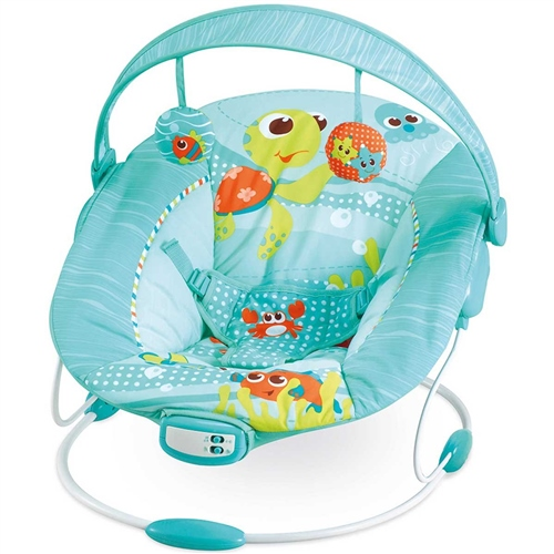 Mastela Comfort Surround System Cradling Bouncer Blue - Click to view larger image