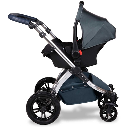 Ickle Bubba Stomp V4 Special Edition All-In-One Travel System + Isofix Base - Midnight Bronze
