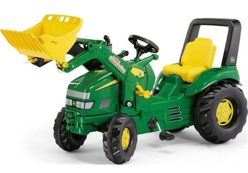 Rolly Toys John Deere X-Trac with Loader Ride on  - Click to view larger image