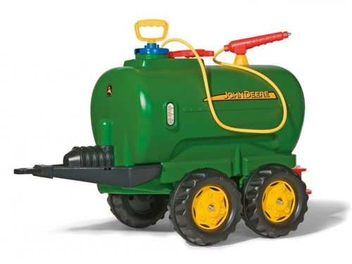 Rolly Toys John Deere Twin Axle Tanker for Child's Tractor  - Click to view larger image