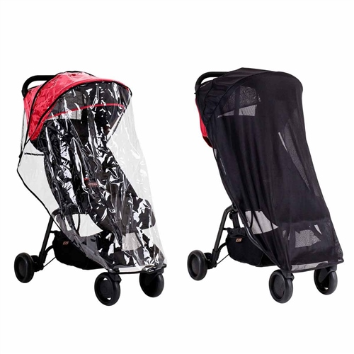 Mountain Buggy Nano all weather cover set  - Click to view larger image