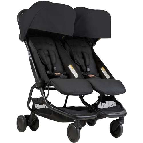 Mountain Buggy Nano Duo Black - Click to view larger image