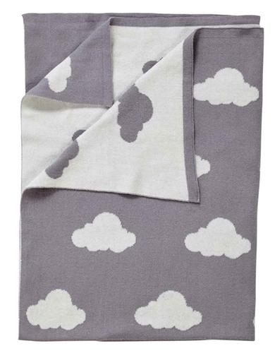 Clair De Lune Reversible Cloud Blanket  - Click to view larger image