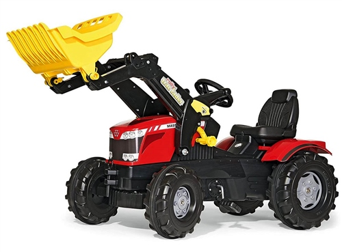 Rolly Toys Farmtrac Massey Ferguson 8650 child's ride on tractor  - Click to view larger image