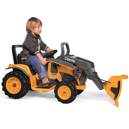 Peg Perego John Deere Construction Loader 12 Volt  - Click to view larger image