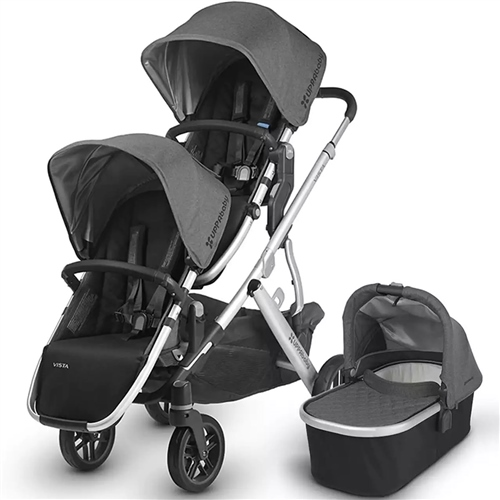 Uppababy - Vista Double Pushchair & 1 Carrycot