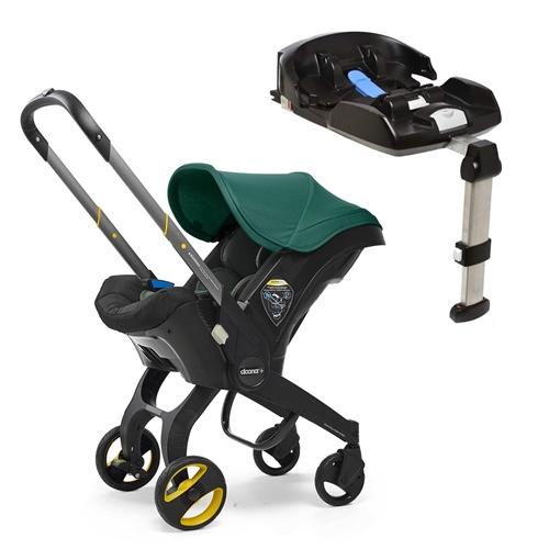 Doona Doona+ Infant Car Seat with ISO-fix Base - Racing Green
