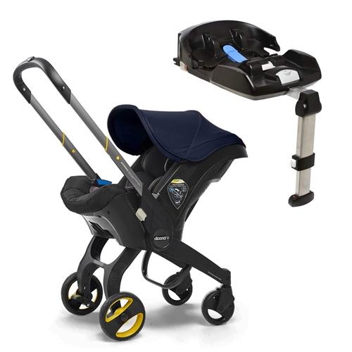Doona Doona+ Infant Car Seat with ISO-fix Base - Royal Blue