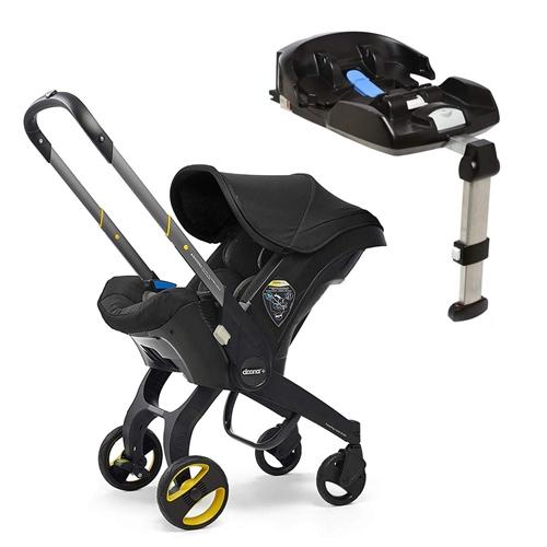 Doona Doona+ Infant Car Seat with ISO-fix Base - Nitro Black