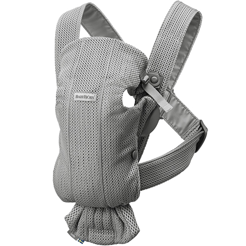 BabyBjorn Baby Carrier Mini - Grey 3D Mesh