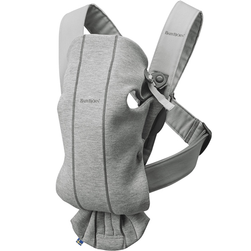 BabyBjorn Baby Carrier Mini - Light Grey 3D Jersey