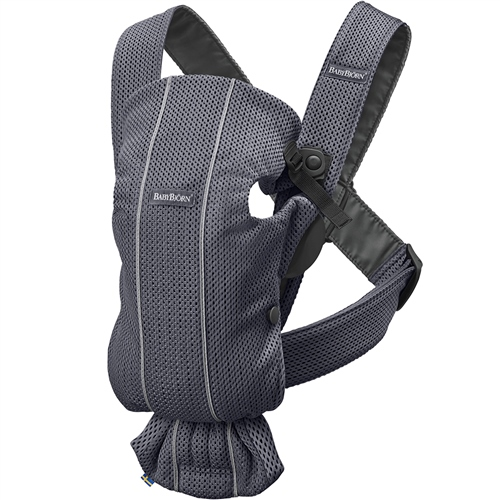 BabyBjorn Baby Carrier Mini - Anthracite 3D Mesh