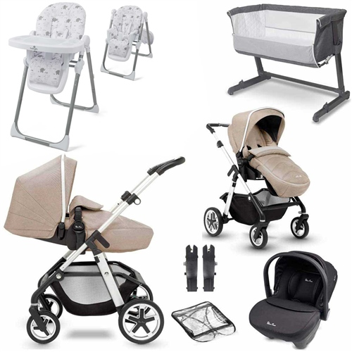 Silver Cross Horizon Complete Nursery & Travel System Bundle 2  - Click to view larger image