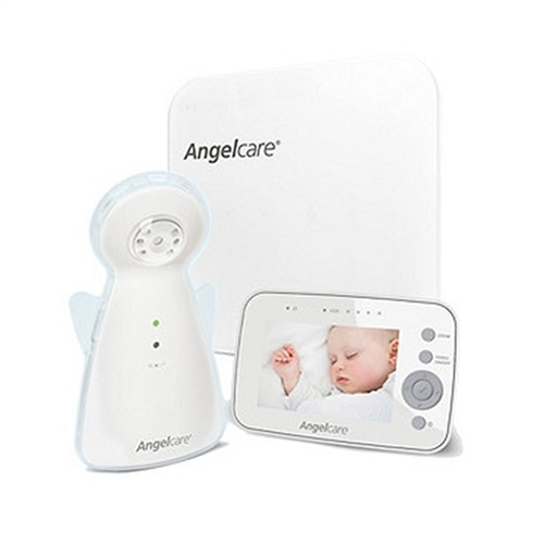 AngelCare Baby Movement Monitor, With Video - White