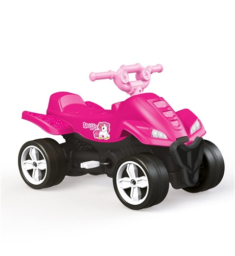 Dolu Unicorn Kids Pedal Operated Quad  - Click to view larger image