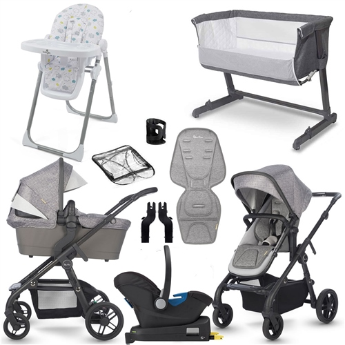 Silver Cross Coast Complete Travel System & Premium Nursery Bundle  - Click to view larger image