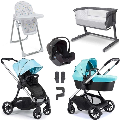 iCandy Lime Travel System & Premium Nursery Bundle  - Click to view larger image