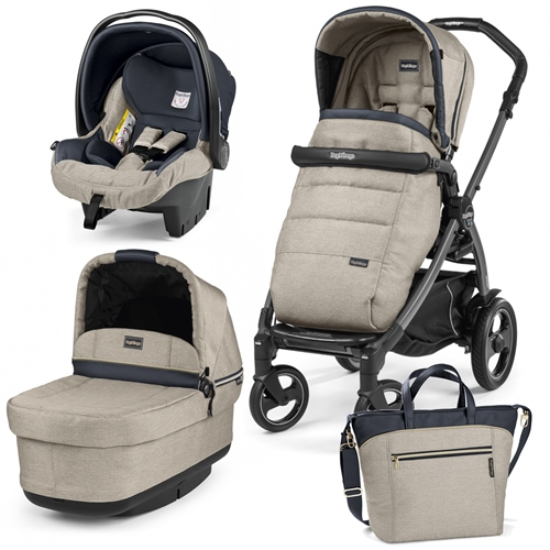 Peg Perego Book S Pop Up Modular Travel System  - Click to view larger image