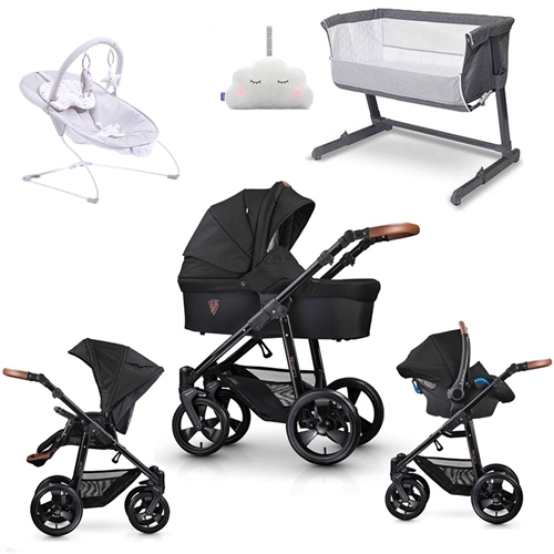 Venicci Gusto Travel System & Premium Nursery Bundle  - Click to view larger image