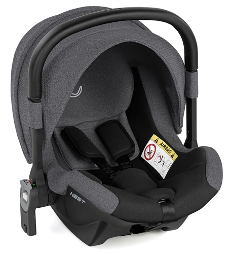 Jane Nest iSize Baby Carrier for Groowy Car Seat - Jet Black