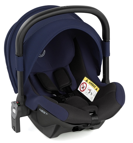 Jane Nest iSize Baby Carrier for Groowy Car Seat - Sailor II