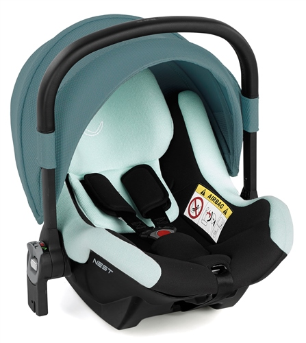 Jane Nest iSize Baby Carrier for Groowy Car Seat - Baobab