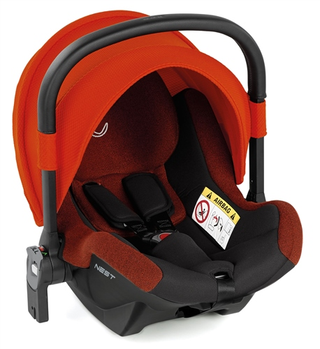 Jane Nest iSize Baby Carrier for Groowy Car Seat