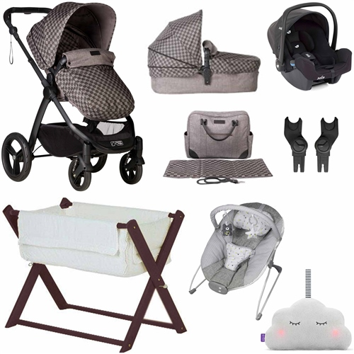 Mountain Buggy Cosmopolitan Travel System & Essential Nursery Bundle  - Click to view larger image