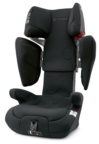Concord Transformer Tech Car Seat - Shadow Black
